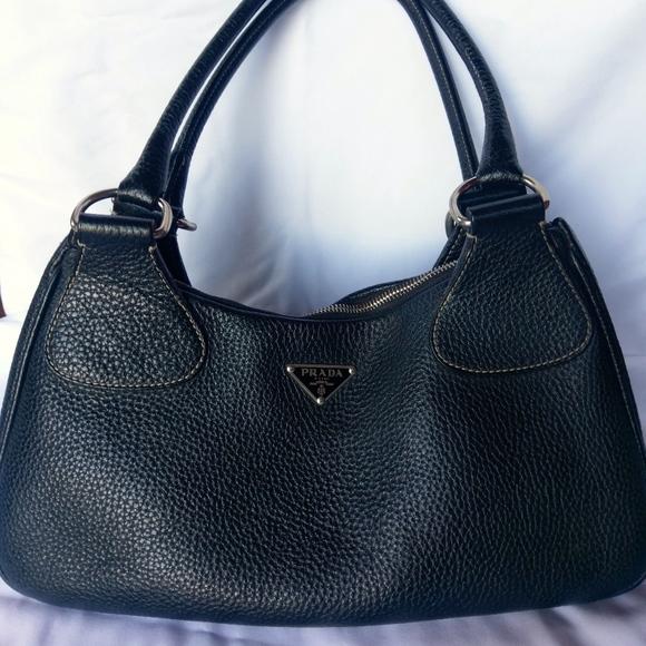 b05c309f415a93 Prada Bags | Euc Vitello Daino Box Shoulder Bag | Poshmark